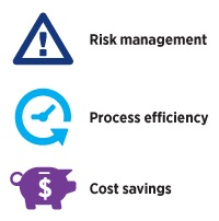 Hays recruitment model delivers: Risk management, process efficiency, cost savings