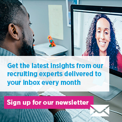 Optin to the Hays Marketing Newsletter - the latest insights from our recruiting experts delivered to your inbox every month